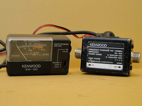 KENWOOD SW-100  & KENWOOD EXTENSION CONNECTOR