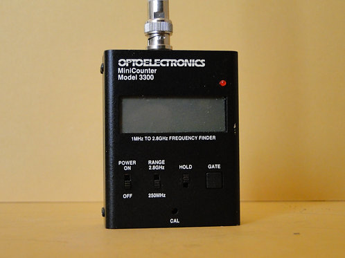 OPTOELECTRONICS MINI COUNTER MODEL 3300 SN 235193