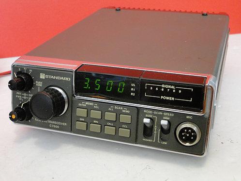 STANDARD UHF FM TRANSCEIVER C7800 SN 99E010091