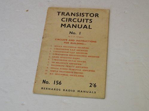 TRANSISITOR CIRCUITS MANUAL No.1