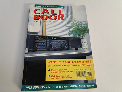 RSGB amateur radio call book information directory