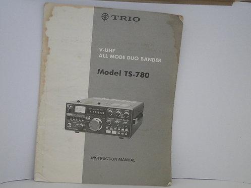 TRIO Model TS-780 Manual