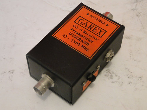 GAREX GA-4 RECEIVER PREAMPLIFIER WIDEBAND 25-1300MHz