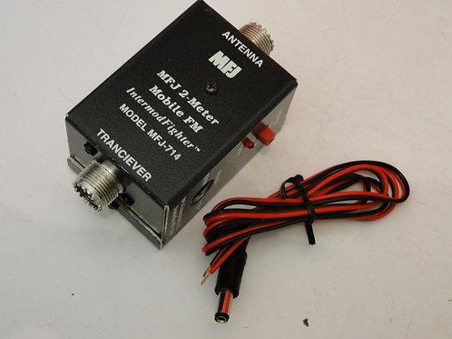 MFJ-714 2m MOBILE INTERMOD FILTER SN 121296