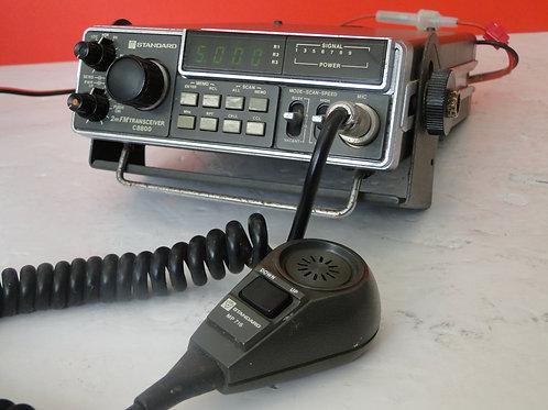 STANDARD 2m FM TRANSCEIVER C8800   SN 06E070109