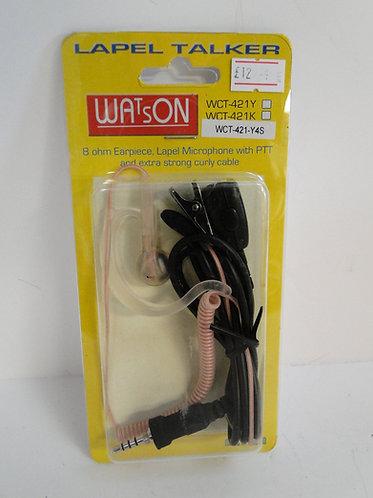 Watson Lapel Talker WCT-421-Y4S