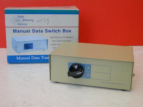 MANUAL DATA SWITCH BOX