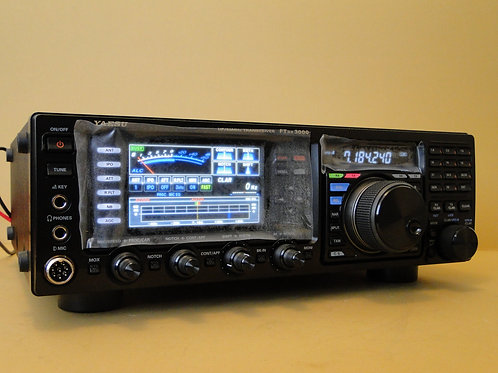 YAESU FT DX 3000 HF/50MHz TRANSCEIVER SN 9J740042