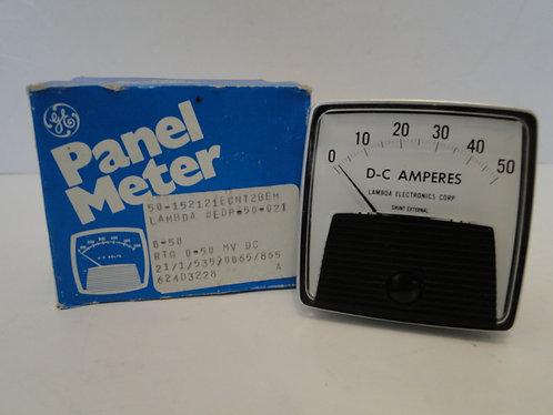GENERAL ELECTRIC PANEL METER LAMBDA