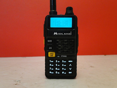 MIDLAND CT590S DUAL BAND TRANSCEIVER SN 018220464