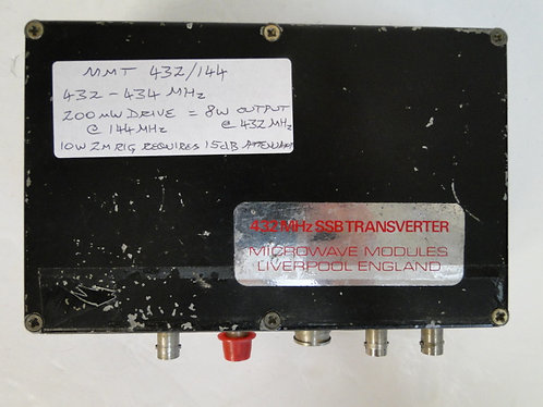 Microwave Modules 432 MHz SSB Transverter FULLY WORKING