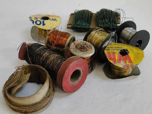 SELECTION OF WIRE
