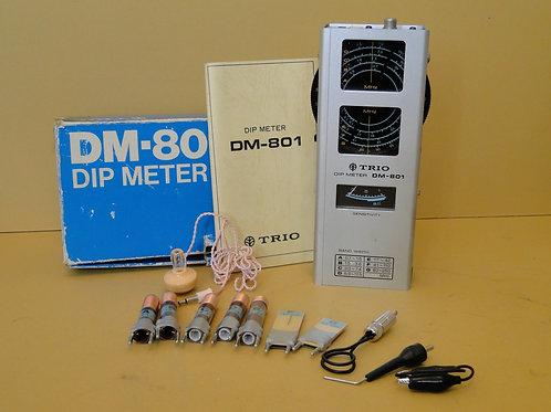 TRIO DM-801 DIP METER SN 1080117