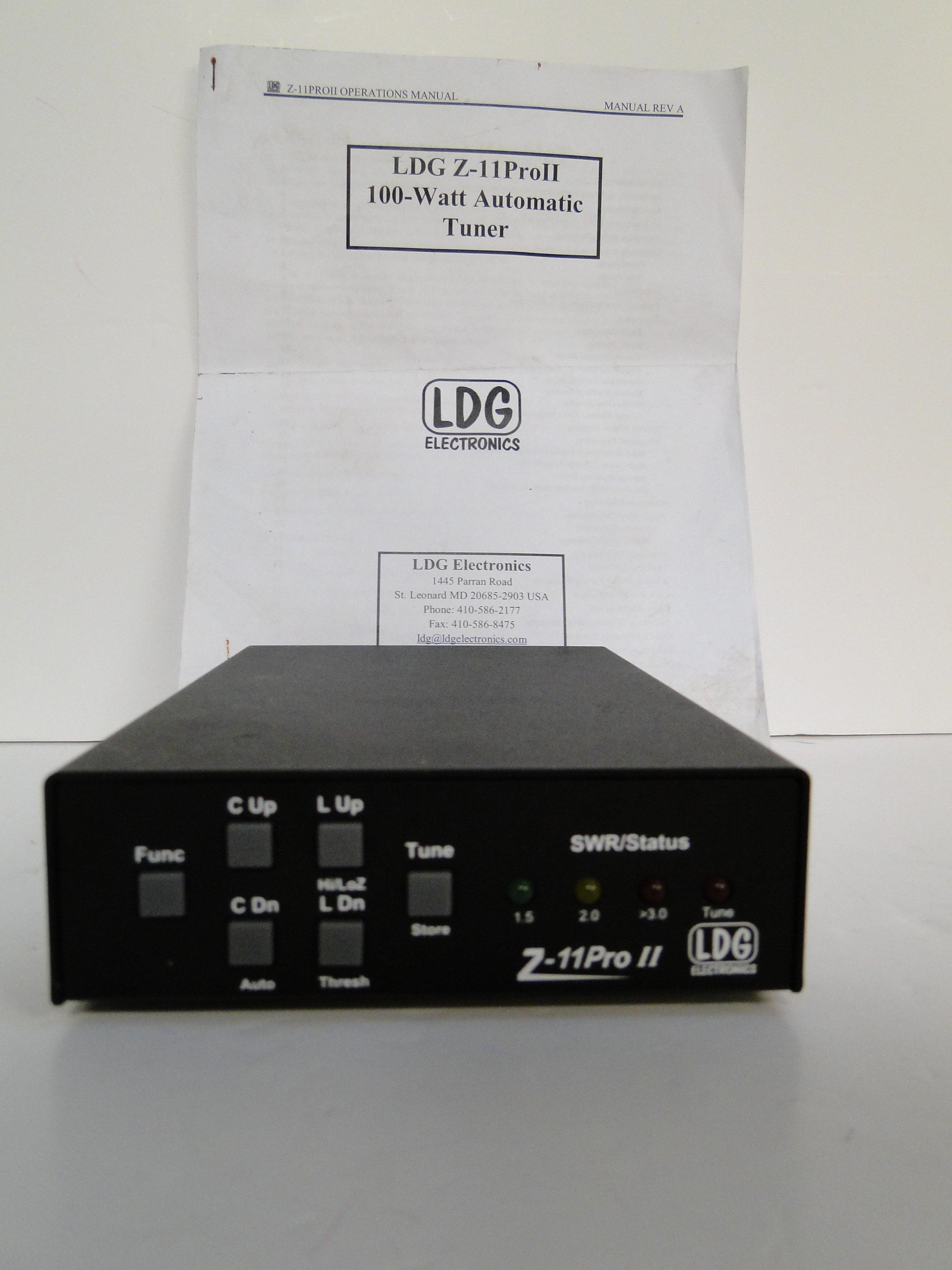 Ldg Z11 Pro Manual