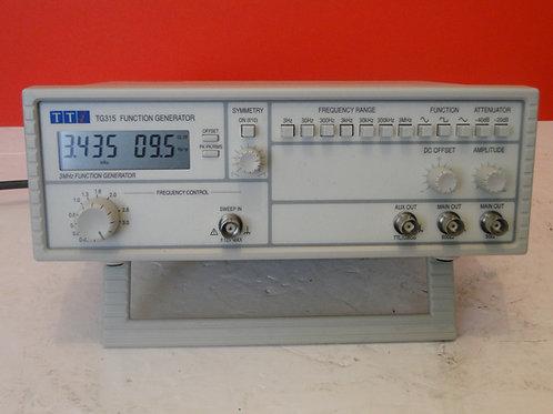 Tti tg315 function generator sn:420091