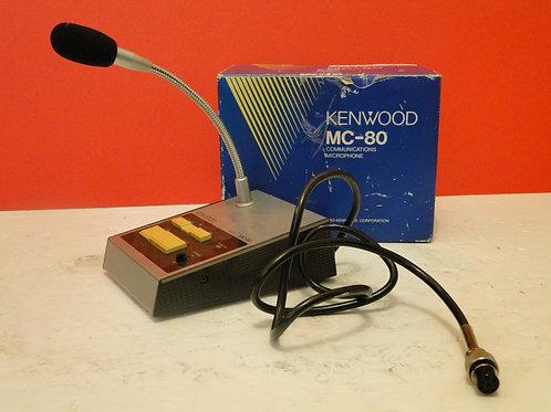 KENWOOD MC-80 COMMUNICATIONS MICROPHONE  8 PIN