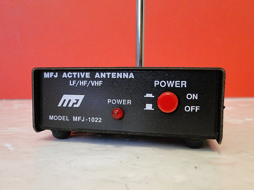 MFJ-1022 ACTIVE ANTENNA SN 122320