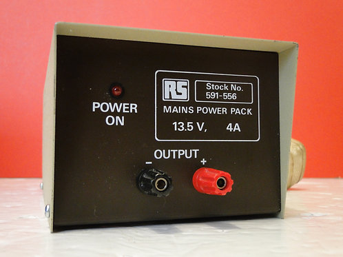 RS MAINS POWER PACK  STOCK No 591-556  SN HL004