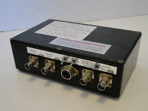 MICROWAVE MODULES 432 MHz SSB TRANSVERTER