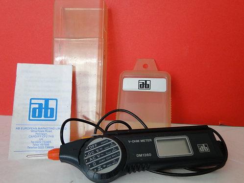 a-b volt pen digital volt meter