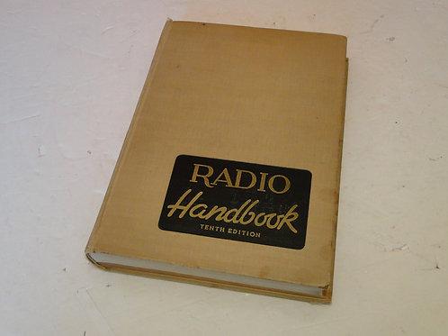 RADIO HANDBOOK TENTH EDITION 1946 BY EDITIORS AND ENGINEERS