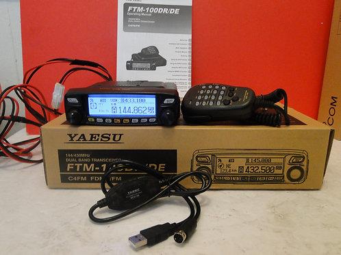 YAESU FTM -100DR 144/430MHz DUAL BAND TRANSCEIVER  SN 5L090603