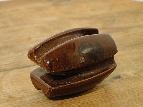 Brown Ceramic Insulator
