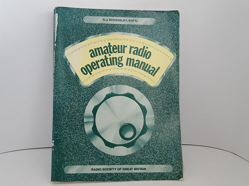 Amateur radio operating manual by R.J. Eckersley