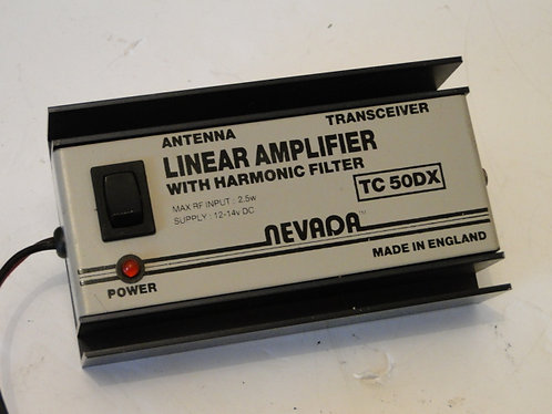 NEVADA TC50DX 6meters LINEAR AMPLIFIER WITH HARMONIC FILTER