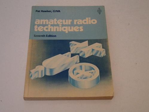AMATEUR RADIO TECHNIQUES 7TH EDITION, PAT HAWKER , G3VA