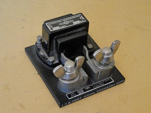 AVOMETER TRANSFORMER 100AMPS 100mA L.T.B chief signal engineer
