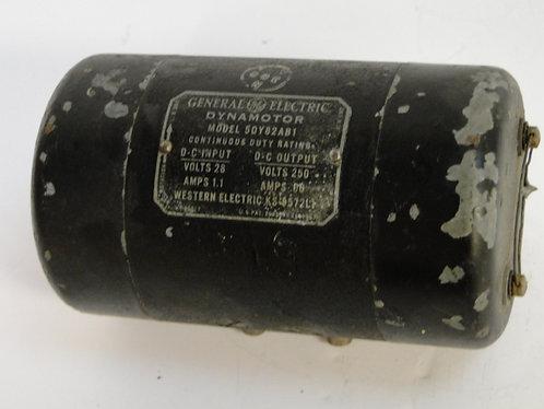 Dynamotor model 5DY82AB1