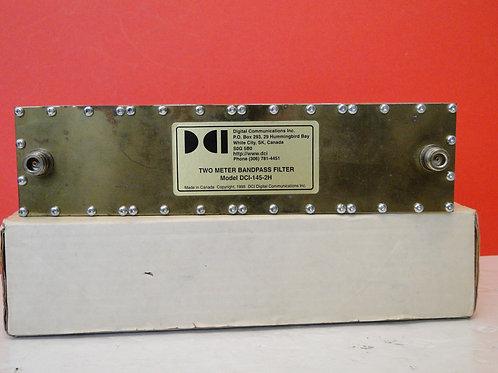 TWO METER BANDPASS FILTER MODEL DCI-145-2H