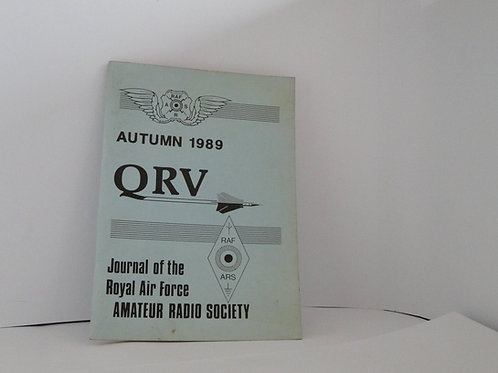 QRV journal of the air force Amateur radio society