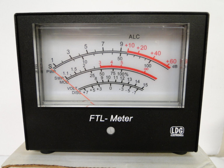 LDG FTL-METER External for YAESU FT-897 or FT-857 BOXED + MANUAL