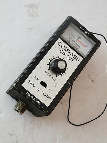 COMPASS CB-201 3-WAY CB TESTER