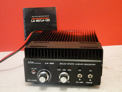 HAM INTERNATIONAL LA-120 SOLID STATE LINEAR BOOSTER SN 561895