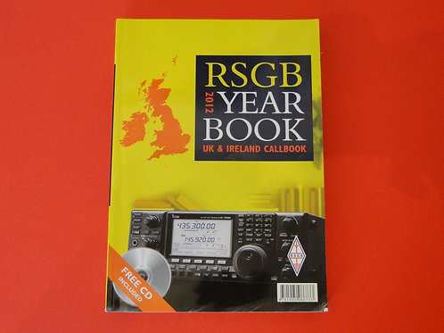 RSGB YEARBOOK 2012 UK & IRELAND