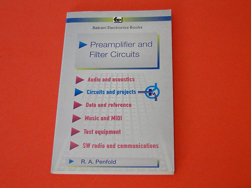 PREAMPLIFIER AND FILTER CIRCUITS, R.A.PENFOLD