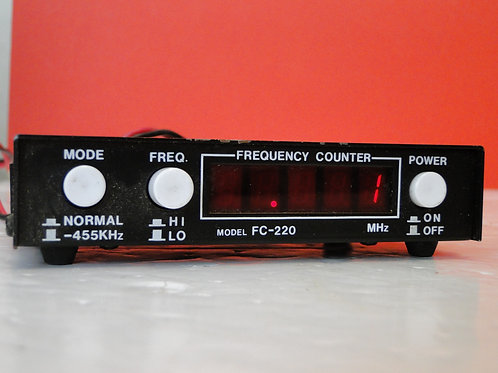 FREQUENCY COUNTER MODEL FC-220 (1kHz~250MHz)