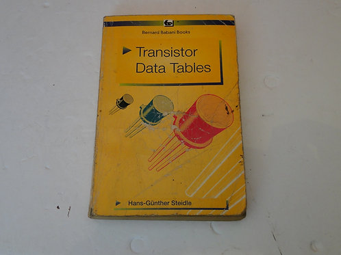 TRANSISTOR DATA TABLES