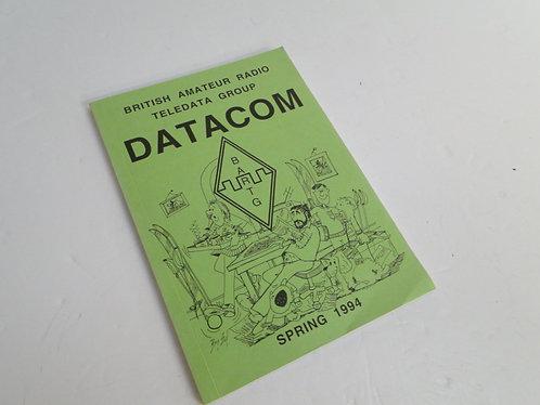 British amateur radio teledata group datacom book
