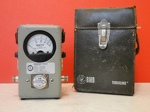 BIRD THRULINE WATTMETER MODEL 43  SN 224521
