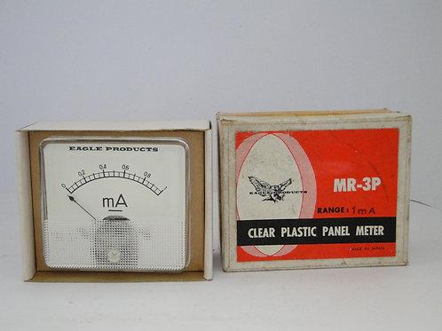 MR-3P Clear Plastic Panel Meter