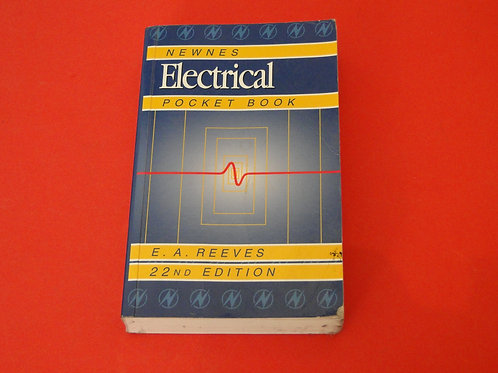NEWNES ELECTRICAL POCKET BOOK 2ND EDITION
