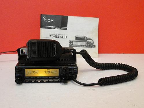 ICOM IC-2350H DUAL BAND FM TRANSCEIVER  SN 01004