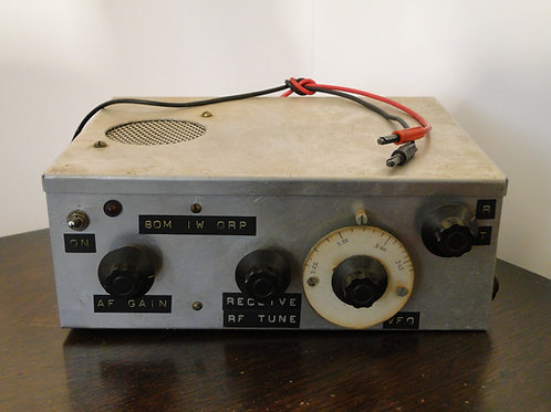 Homemade kit 80m 1w CW QRP Transceiver