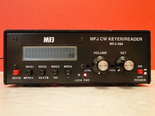 MFJ-464 CW KEYER/READER SN 134686
