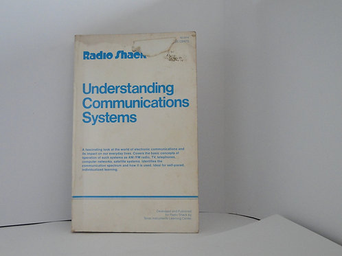 Understanding communications systems by radio shack  1980