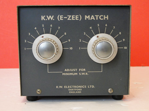 KW (E-ZEE) MATCH  ATU  SN 1144
